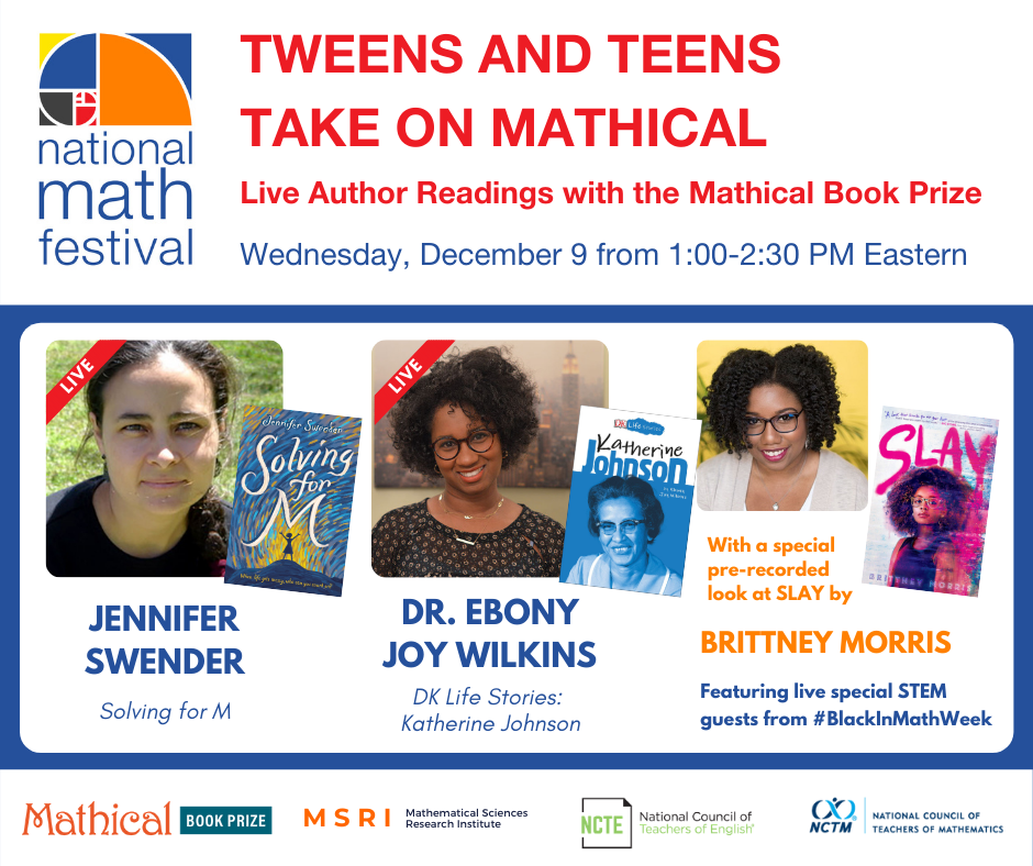 2021 National Math Festival: Mathical Author Events